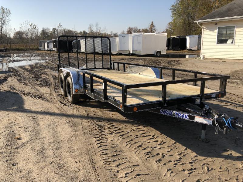 Load Trail 83 x 18ft Premium Utility Trailer TA1 W/ Spring Assist Gate
