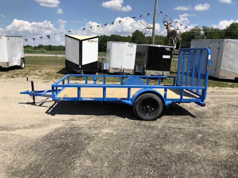 Load Trail SE Sky Blue 77x12 Utility Trailer