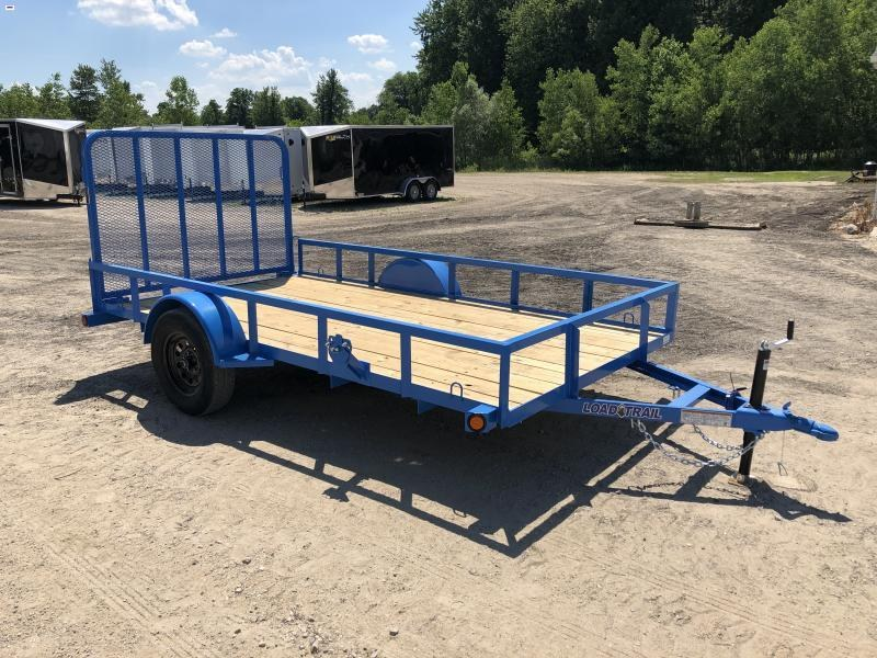 Load Trail SE Sky Blue 77x12 Utility Trailer