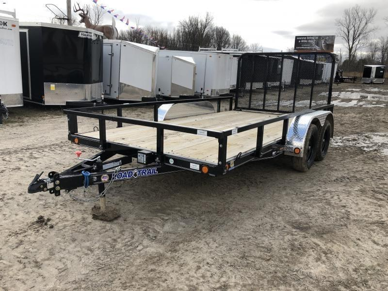 Load Trail XT 83 x 14ft Premium Utility Trailer w/ Spring Assist Gate