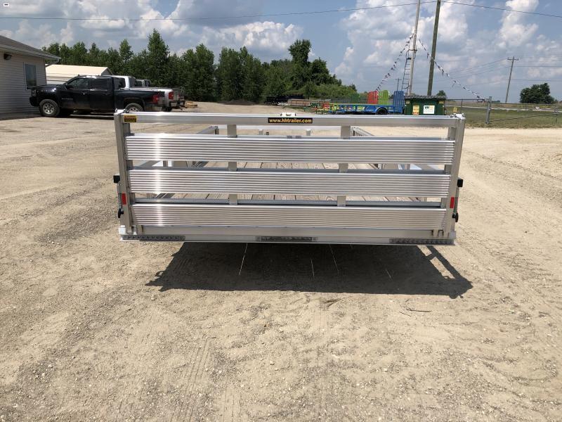 H and H 82x14 Aluminum ATV Utility Trailer