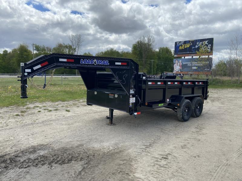 Load Trail 83X14 14K Gooseneck Dump Trailer