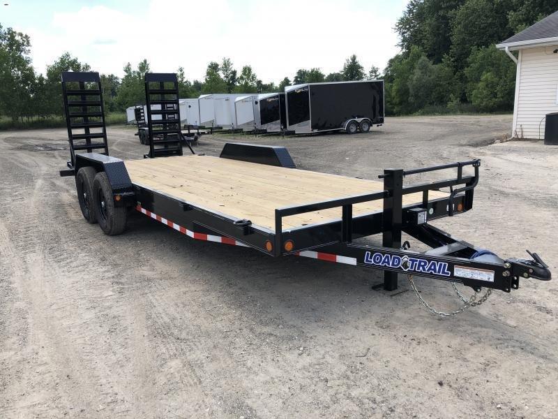 Load Trail 18ft 14K Equipment Trailer W/HD Ramps