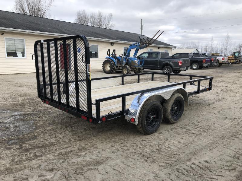 Load Trail XT 83 x 14ft Premium Utility Trailer w/ Spring Assist Gate