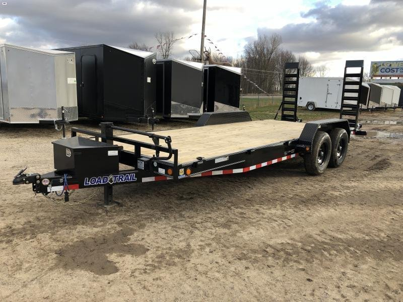 Load Trail 20ft 14K Equipment Trailer w/Tool Box
