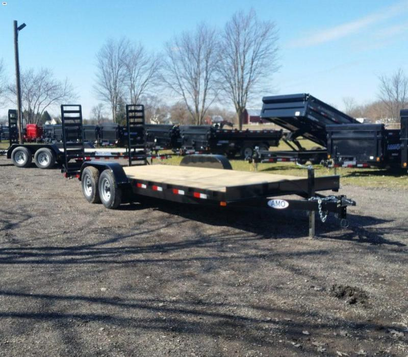 82 x 20 A.M.O. Equipment Trailer TA4