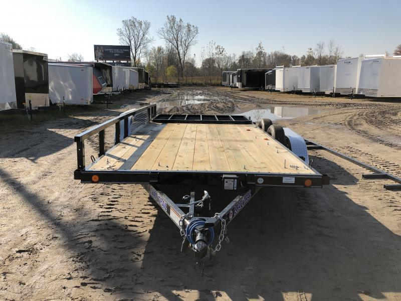 Load Trail 83 x 18ft Premium Utility Trailer TA1 W/ Spring Assist Gate