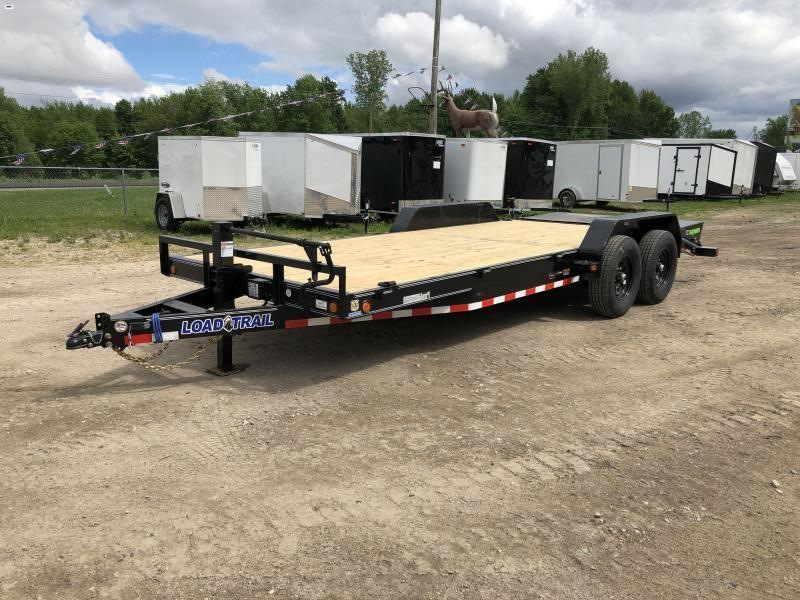 Load Trail 20ft 14K Equipment Trailer w/ Max Ramps
