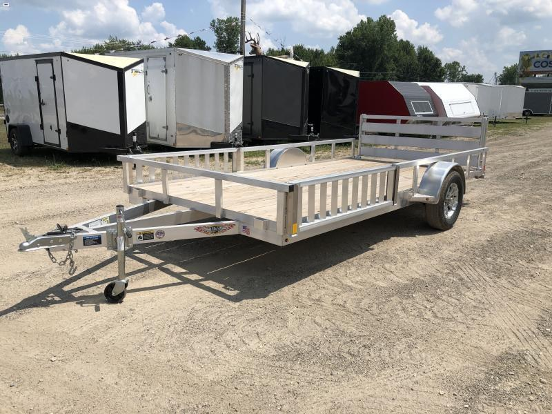 H and H 82x14 Aluminum ATV Utility Trailer