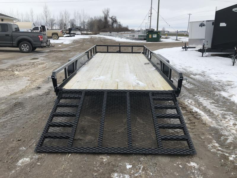H and H Trailer 82x16 HD Utility Trailer