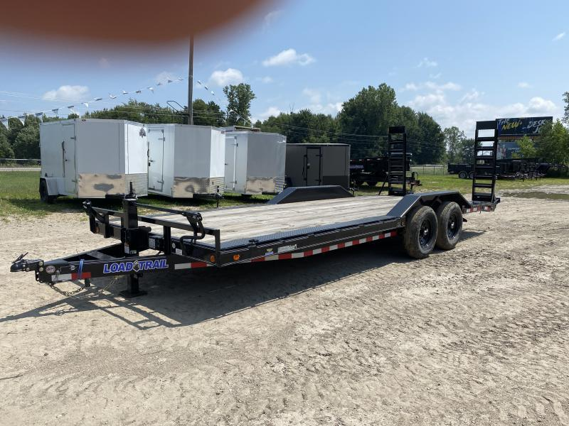 Load Trail 102x22 14K Equipment Trailer W/ Drive Over Fenders