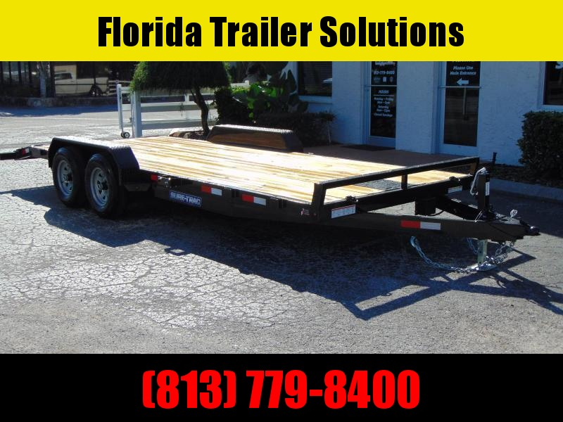 New Sure-Trac 7X20 (18+2) Wood Deck 10k Car Hauler