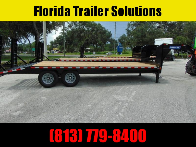 New Sure-Trac 8.5X18+4 Deckover 15k Gooseneck Equipment Trailer