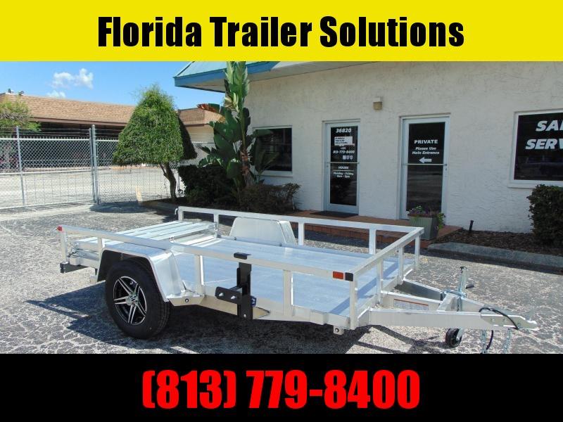 New Sure-Trac 5X10 All Aluminum Utility Trailer
