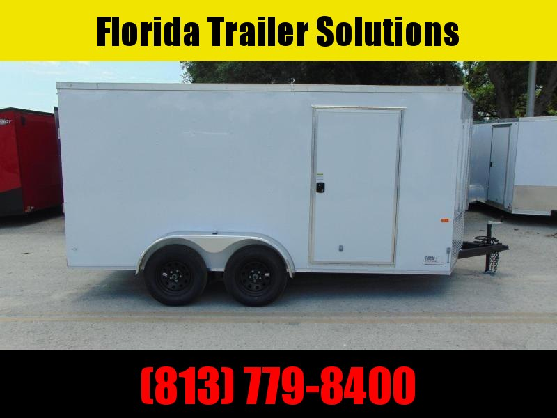 New Rock Solid Cargo 7X14TA Enclosed Cargo Trailer
