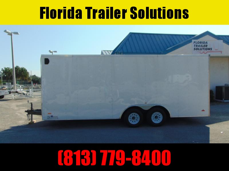 2020 PRE-OWNED RC Trailers 8.5X20 Enclosed Cargo Trailer