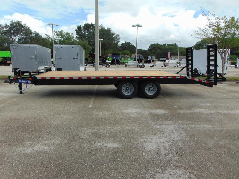 New Sure-Trac 8.5X20+4 15k Beavertail Deckover Equipment Trailer