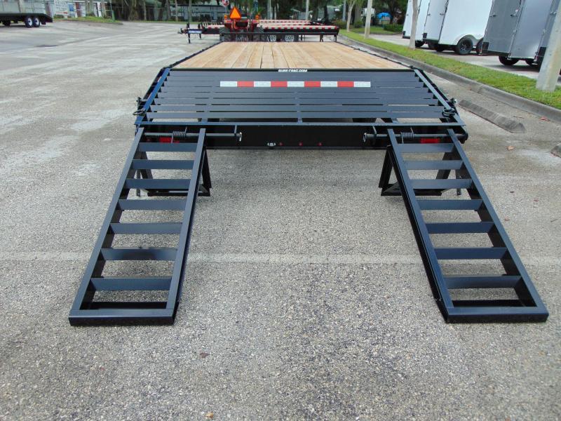New Sure-Trac 8.5X20+4 15k Beavertail Deckover Equipment Trailer