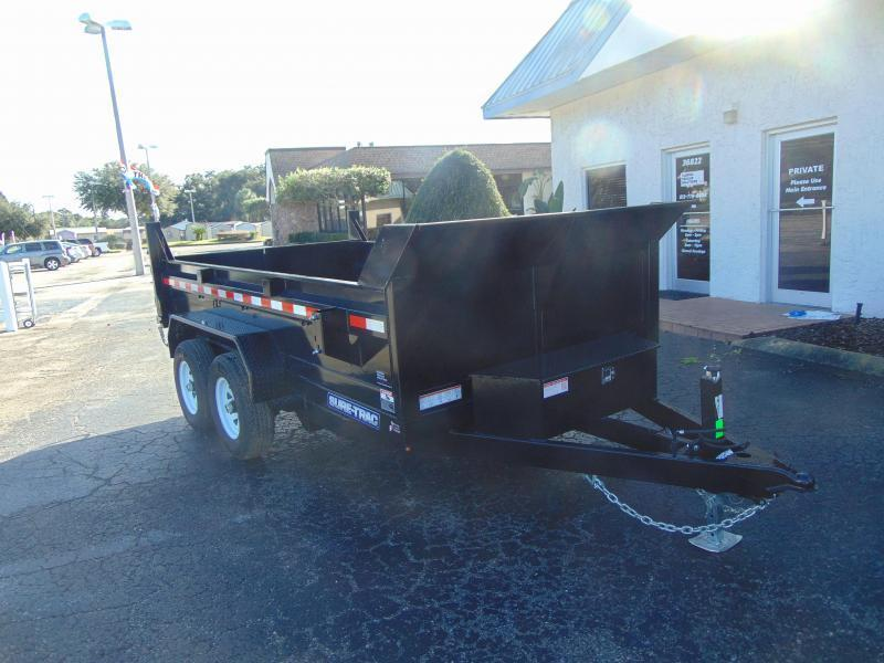 New Sure-Trac 6X12 Low Profile 10k Dump Trailer