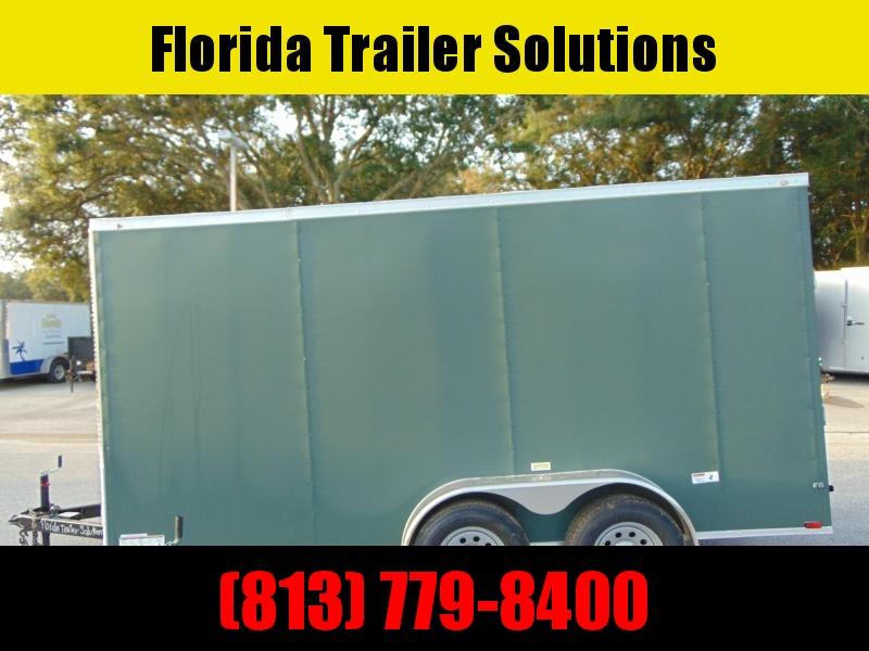 "New Quality Cargo 7X14TA Enclosed Cargo Trailer w/ 3"" Addtl Height"