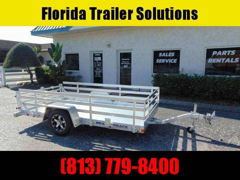 New Bear Track 65x120 All Aluminum Utility Trailer w/Side Kit