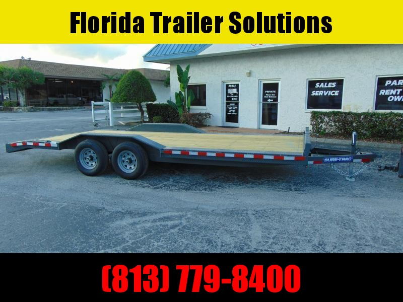2020 Sure-Trac 8.5X18+2 Drive Over Fender 10k Equipment Trailer