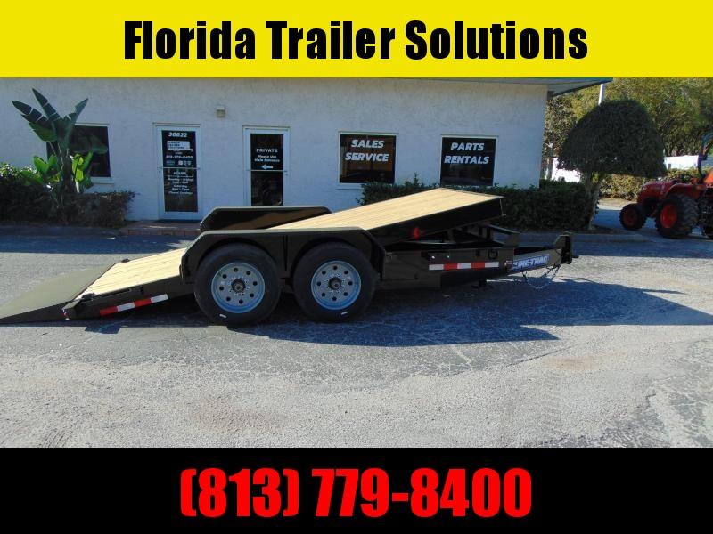 New Sure-Trac 7X16 16k Tilt Bed Equipment Trailer