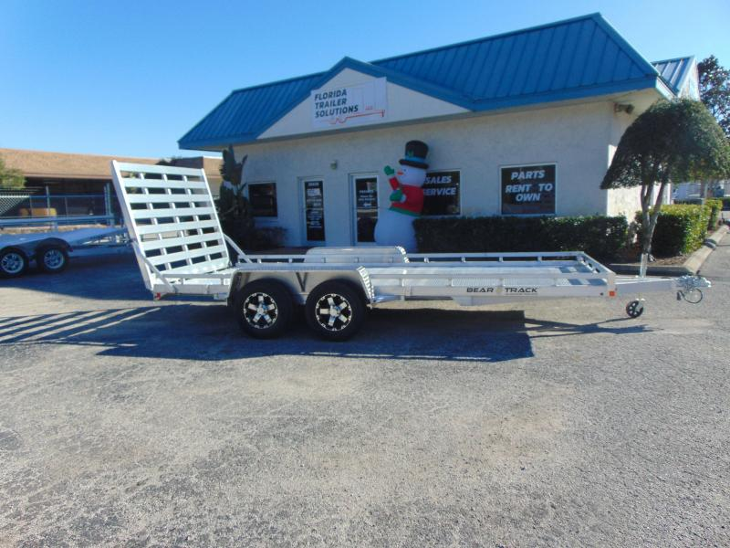 New Bear Track 81x194 Tandem Axle HD Utility Trailer