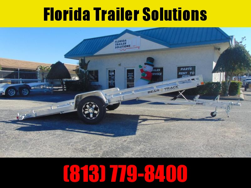 New Bear Track 81X176 All Aluminum Tilt Utility Trailer
