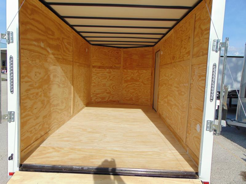 "New Quality Cargo 7X14TA Enclosed Cargo Trailer w/3"" Addtl Height"