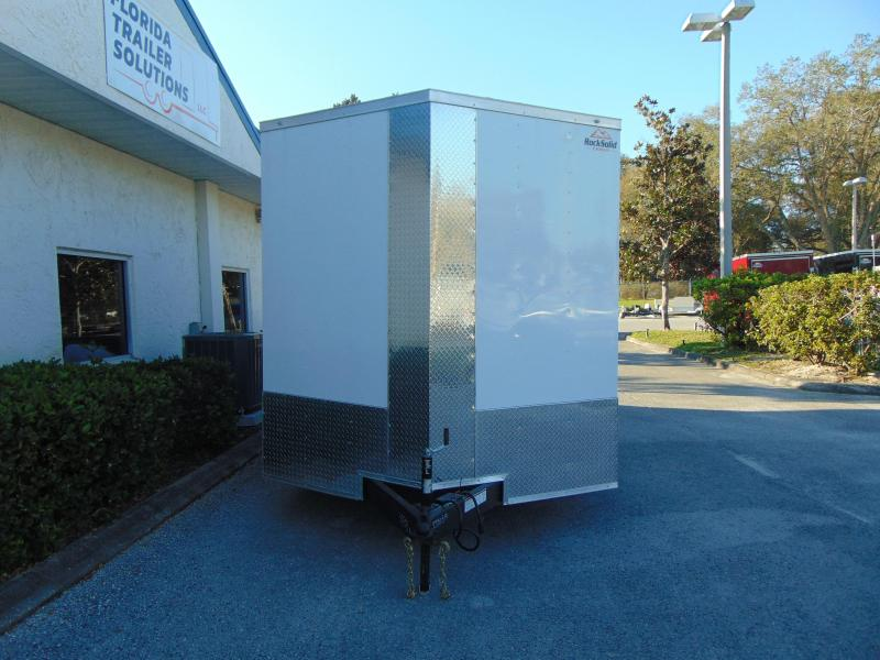 """New Rock Solid Cargo 8X16TA 7k Enclosed Cargo Trailer w/12"""" Additional Height"""