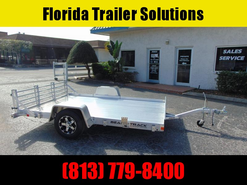 New Bear Track 76X120 All Aluminum Utility Trailer