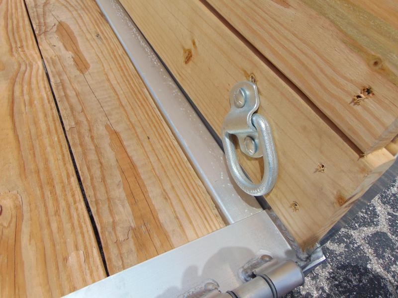 New Sure-Trac 6X12 Aluminum Utility Trailer w/ 3 Board Sides