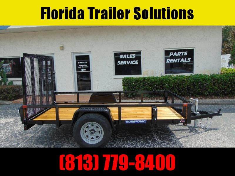New Sure-Trac 5X10 Tube Top 3k Utility Trailer