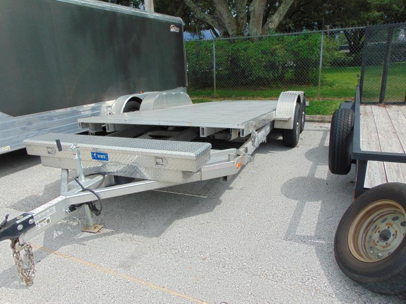 Pre-Owned Legend Mfg 7X20 - 7k Tilt Aluminum Car Hauler