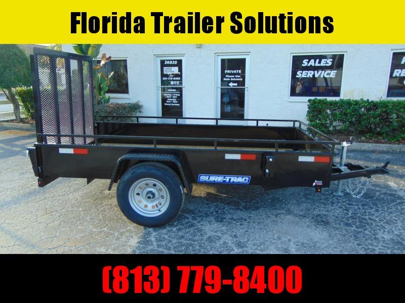 New Sure-Trac 5X10 Steel Side 3k Utility Trailer