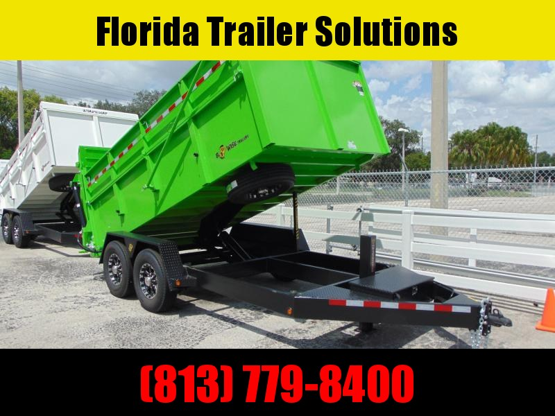 New B-Wise 82X14 Ultimate 15.4k Dump Trailer