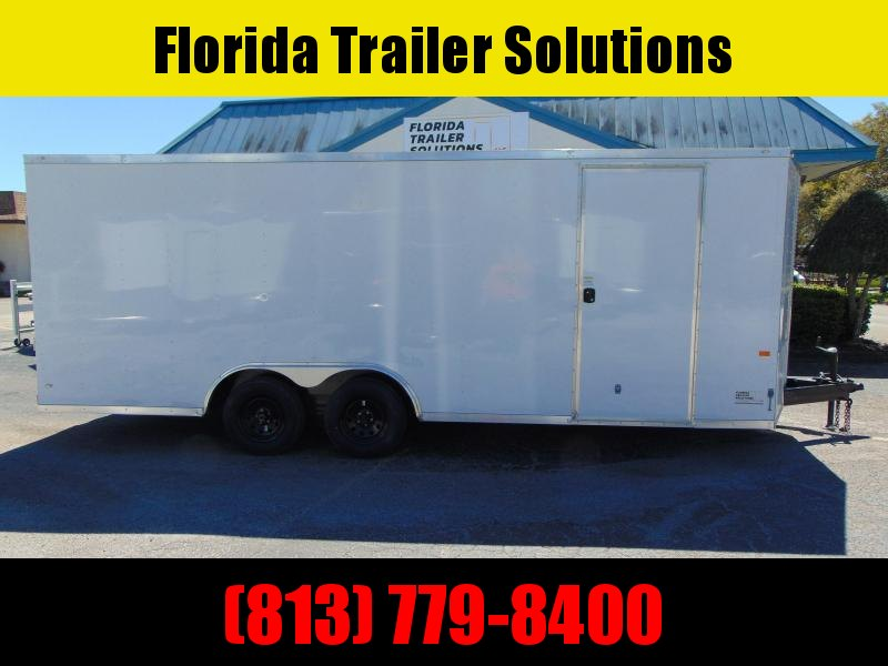 New Rock Solid Cargo 8.5X20TA 7k Car / Racing Trailer
