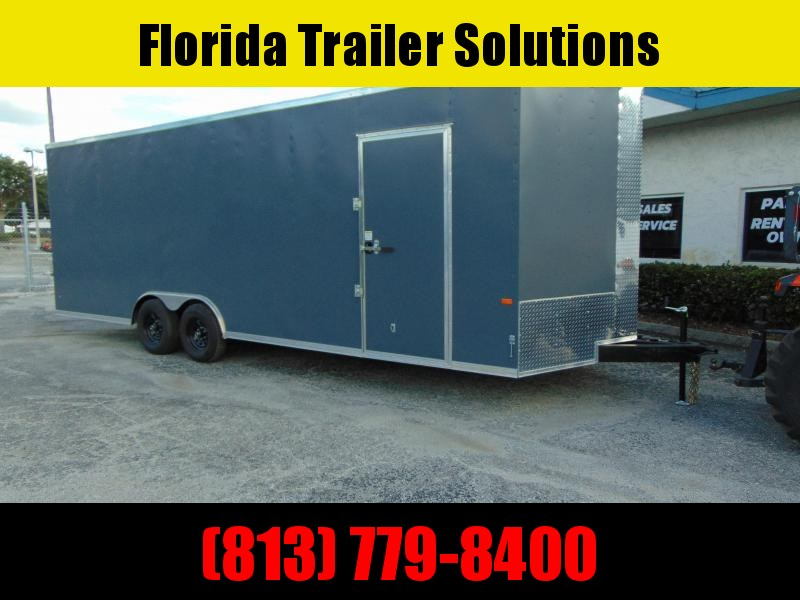 """New Rock Solid Cargo 8.5X24 10k Enclosed Car/Racing Trailer w/7' 6"""" Interior Height!"""