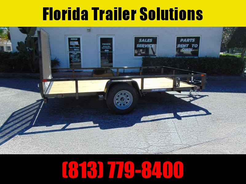 New Sure-Trac 7X12 Tube Top 3k Utility Trailer