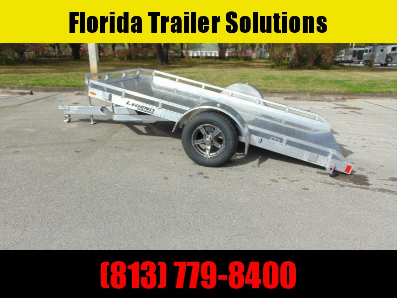 New Legend Trailers 7x12 All Aluminum Tilt Utility Trailer
