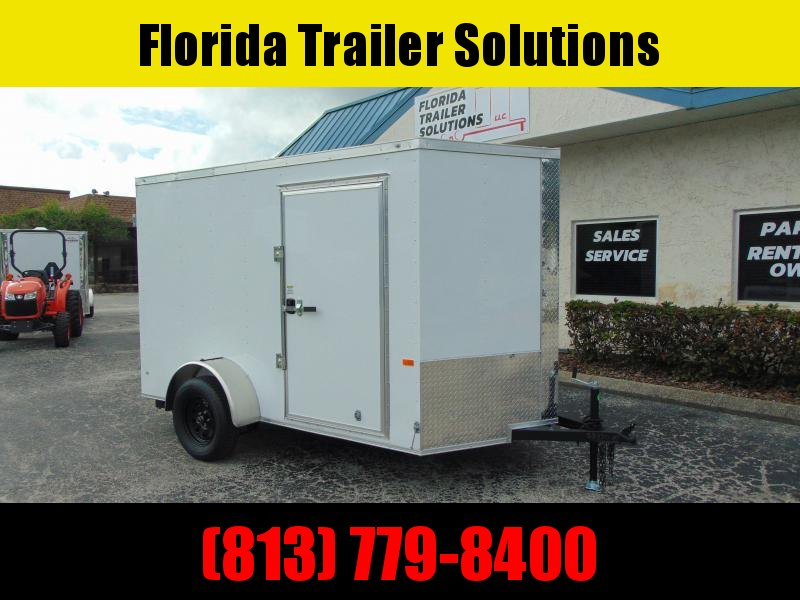 New Rock Solid Cargo 6X10SA Enclosed Cargo Trailer w/Barn Doors