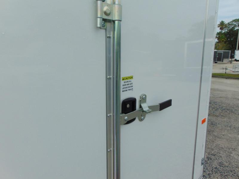 New Rock Solid Cargo 6X10SA Enclosed Cargo Trailer w/Barn Doors