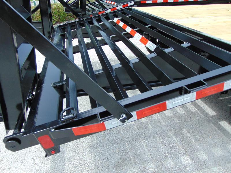 New Sure-Trac 8.5X20+4 Deckover 15k Gooseneck Equipment Trailer