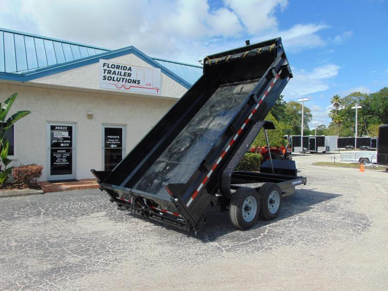 New Sure-Trac 82X14 16k Telescopic Dump Trailer