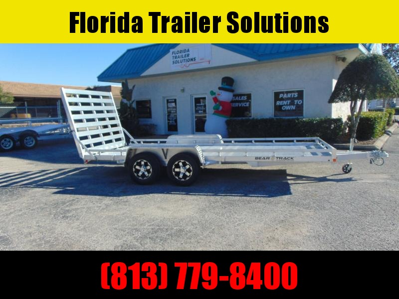 2021 Bear Track 7X16 All Aluminum Utility Trailer
