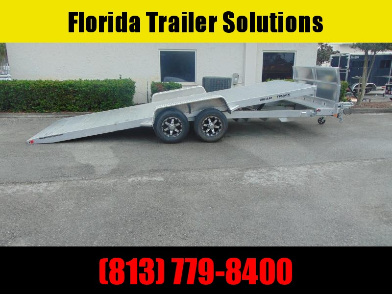 2021 Bear Track 7X20 HD 10K All Aluminum Tilt Car Hauler
