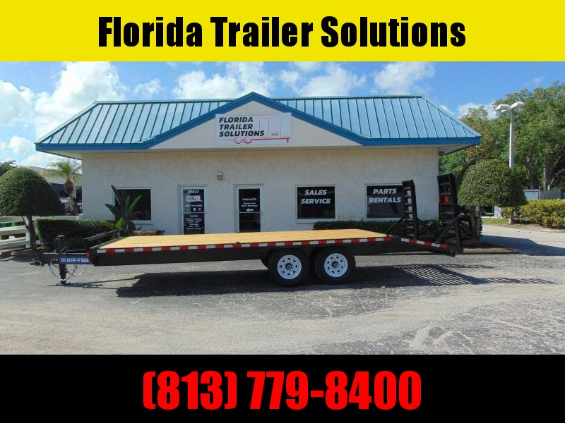 New Sure-Trac 8.5X18 plus 4 - 15k Beavertail Deckover Equipment Trailer