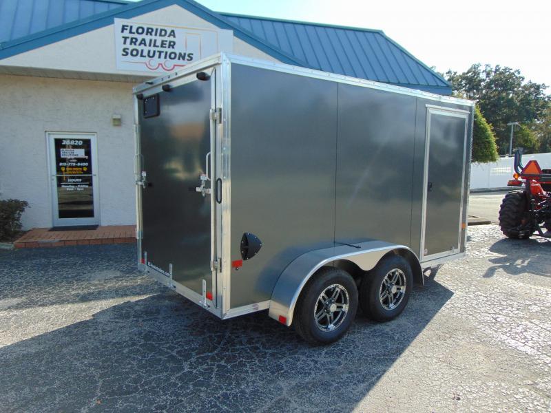 New ALCOM E-Z Hauler 6X12 Tandem Axle 7k All Aluminum Enclosed Cargo Trailer