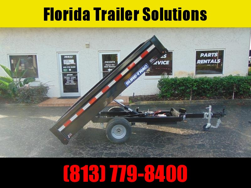 New Sure-Trac 4.5 x 8 Utility Dump Trailer